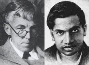 hardy,1877-1947)与拉马努金(srinivasa ramanujan,1887-1920)